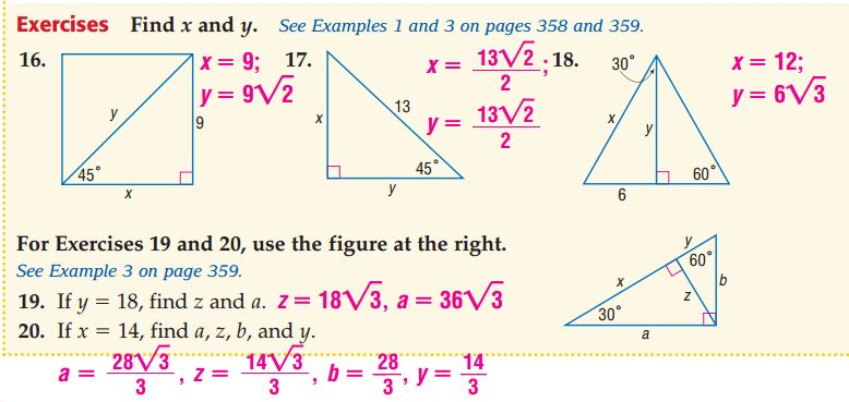 Resources - Right Triangles - Ask Mrs. Martinez